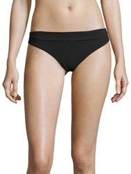 Heidi Klein Cayman Islands Foldover Bottom Black