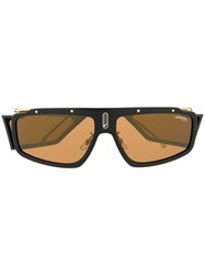 Carrera Facer Rectangular Frame Sunglasses Brown