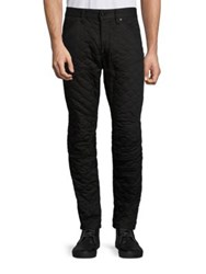 G Star Geometric Quilted Pants Black