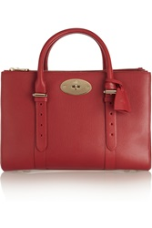 Mulberry The Bayswater Double Zip Textured Leather Tote
