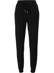 Michael Michael Kors Side Stripe Track Pants Black