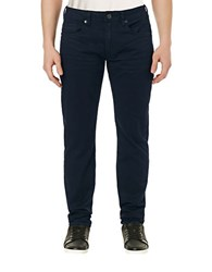 Buffalo David Bitton Six X Slim Straight Colored Jeans Deep Navy