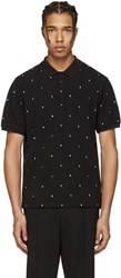 Kenzo Black Embroidered Polo