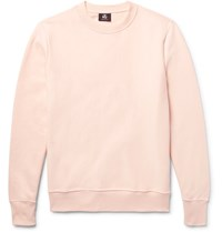 Paul Smith Ps By Loopback Cotton Jersey Sweatshirt Peach