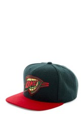 Mitchell And Ness Ok City Brushed Holiday Snapback Blue