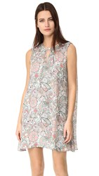 Cupcakes And Cashmere Ruxton Paisley Floral Printed Dress Pale Green