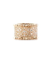 Roberto Coin Rock And Diamonds 18K Rose Gold Ring