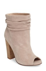Kristin Cavallari Women's 'Laurel' Peep Toe Bootie Harbor Grey