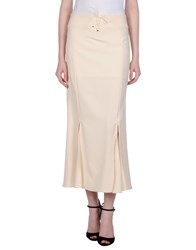 Versace Jeans Couture Long Skirts Beige