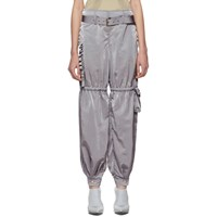 Misbhv Grey Par Avion Trousers