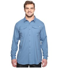 Columbia Silver Ridge Lite Long Sleeve Shirt Extended Steel Men's Long Sleeve Button Up