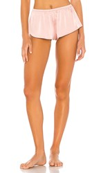Lovers Friends Indra Short In Pink. Blush