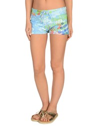 Mosaique Beach Shorts And Pants Azure