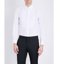 Boglioli Single Cuff Linen Shirt White