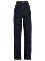 Calvin Klein 205W39nyc High Rise Straight Leg Jeans Blue