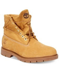 Timberland Icon Basic Roll Top Boots Men's Shoes Wheat Nubuck