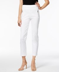 Inc International Concepts Petite Cropped Skinny Pants Only At Macy's Goddess Blue