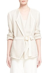Women's Vince Woven Cotton Blazer
