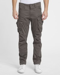 G Star Grey Rovic 3D Cargo Trousers