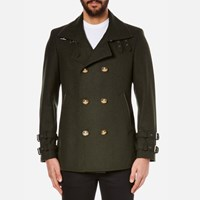 Vivienne Westwood Man Men's Sports Jacket Green Melange