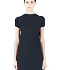 Rick Owens Cashmere T Shirt Dress Black