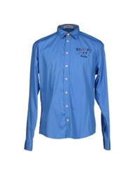 Beverly Hills Polo Club Shirts Pastel Blue
