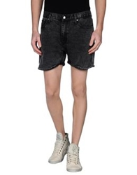 Cheap Monday Denim Bermudas Steel Grey