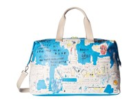 Alice Olivia Basquiat Ascent Canvas Weekender Multi Luggage