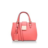 Carvela Micro Mandy Slouch Tote Pink