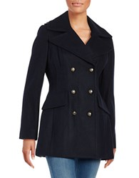 Bcbgeneration Wool Blend Peacoat Navy