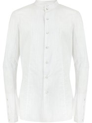 Masnada Fitted Shirt White