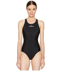 Adidas By Stella Mccartney Performance Zip Swimsuit Bs1150 Black