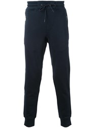 Kent And Curwen Zip Pocket Sweatpants Blue