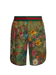 Gucci Flora Print Swim Shorts Multi