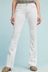 Anthropologie Citizens Of Humanity Emmanuelle Mid Rise Slim Boot Jeans White