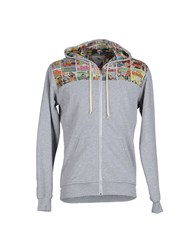 Macchia J Topwear Sweatshirts Men Grey