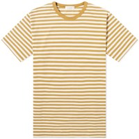 Nanamica Coolmax Stripe Jersey Tee Yellow