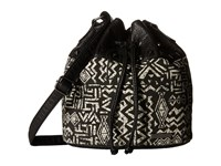 Billabong Cornered Coast Bucket Bag Off Black Clutch Handbags