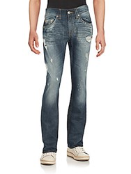 True Religion Whiskered Five Pocket Jeans Blue
