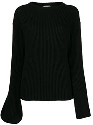 L'autre Chose Asymmetric Sleeves Jumper 60