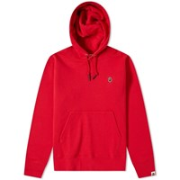 A Bathing Ape One Point Pullover Hoody Red