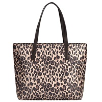 John Lewis Leopard Pepple Shoulder Bag Multi