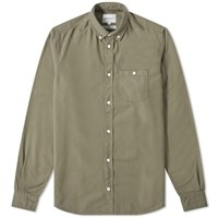 Norse Projects Anton Oxford Shirt Green
