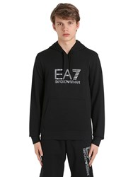 Emporio Armani Logo Hooded Cotton Sweatshirt