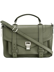 Proenza Schouler Medium Ps1 Satchel Green