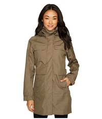 Nau Quintessentshell Trench Coat Vetiver Gray