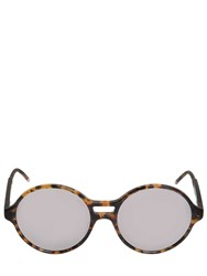 Thom Browne Tokyo Acetate T Shell Round Sunglasses
