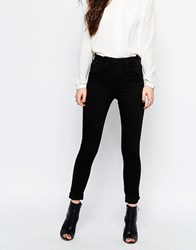 Only High Waist Skinny Jeans Black