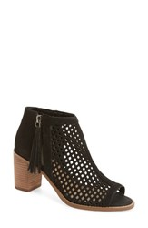Vince Camuto Women's Tresin Perforated Open Toe Bootie