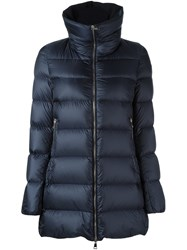Moncler 'Torcyn' Padded Coat Blue
